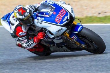 Jorge Lorenzo pilot of MotoGP