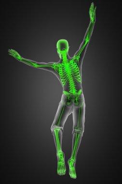 Jump man radiography
