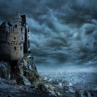 """Картина, постер, плакат, фотообои """"Замок"""", артикул 10457434"""