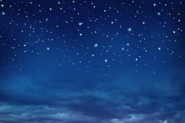 """Картина, постер, плакат, фотообои """"ночное небо со звездами """", артикул 8292185"""