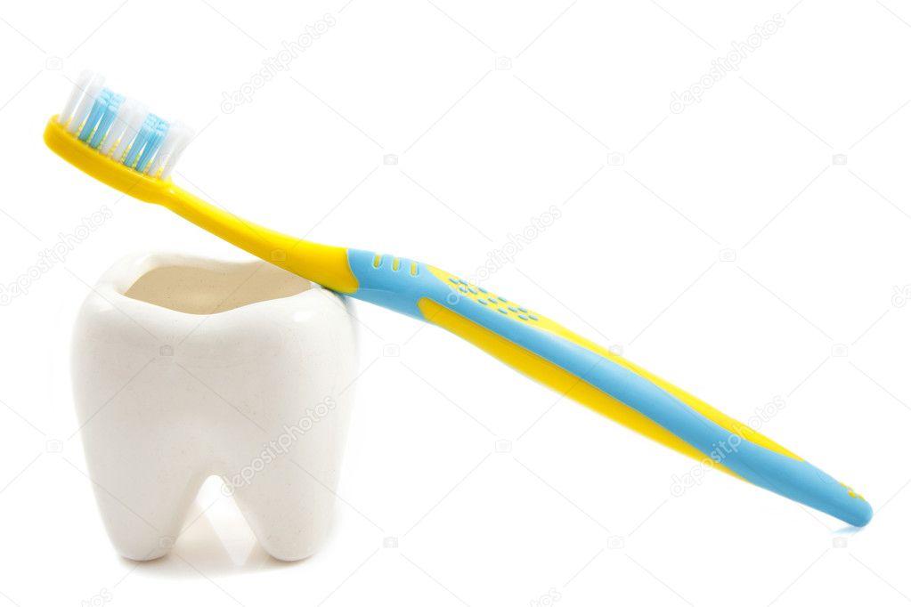 Manter Os Dentes Limpos E Brancos Fotografias De Stock C Digifun