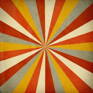 Retro background with orange pattern