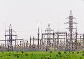 Fotografie distribuce elektřiny sub-stanice