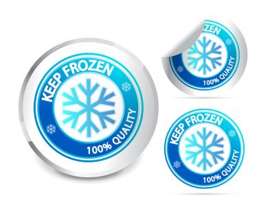 Keep frozen label