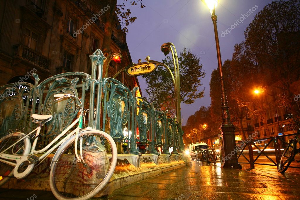 Metro van parijs u2014 stockfoto © jeancliclac #8313588