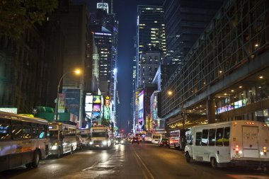 Times Square, featured with Broadway Theaters and huge number of