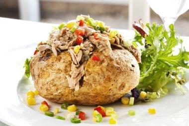 Baked Potato with Tuna