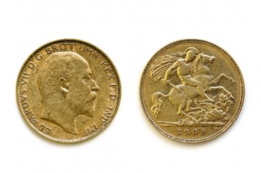 Sovereign Front and Reverse over White