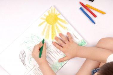 Drawing children image