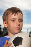 Photo Boy with soccer bal