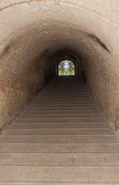 Grunge tunnel entrance