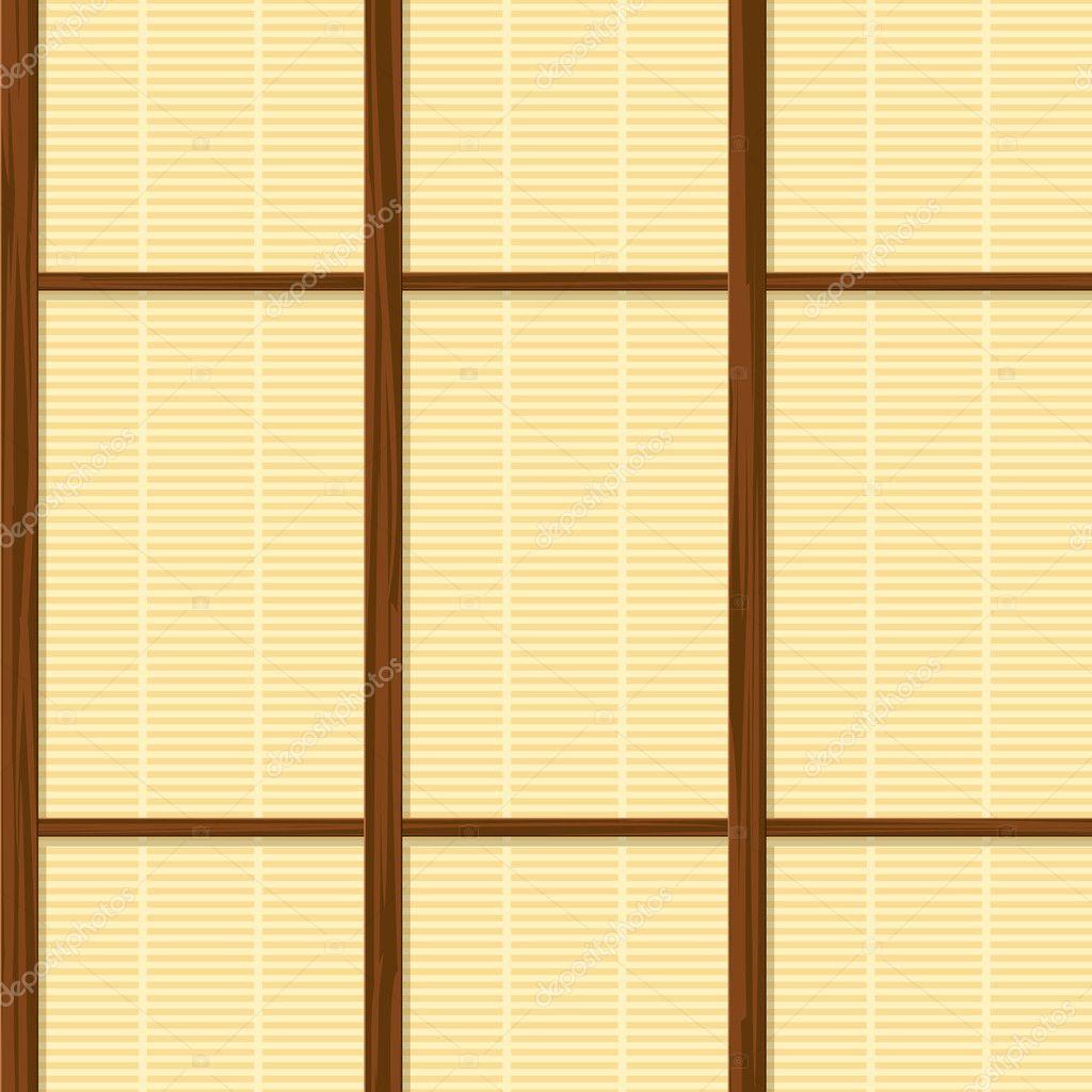 Japanische Wand nahtlose haus wand papierstruktur stockvektor 100ker 9215068