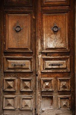 Very old wooden doors