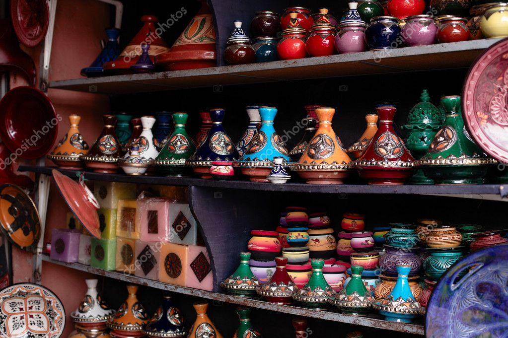 del souk souvenir nel tradizionale e decorate Marocco della medina ttqSAxB