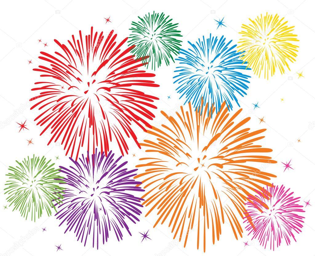 Маленький столик за углом - Том VI - Страница 48 Depositphotos_9214156-stock-illustration-vector-colorful-fireworks