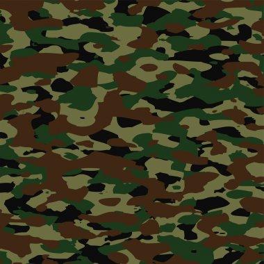 Vector summer camouflage pattern stock vector