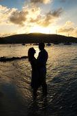Fotografie Couple at sunset