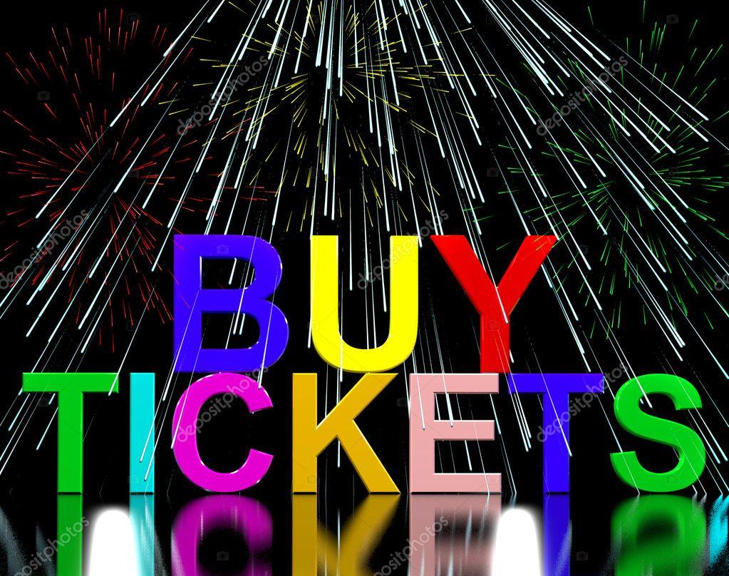 kaufen Sie Karten Wörter mit Feuerwerk, Konzert oder Festival Adm ...