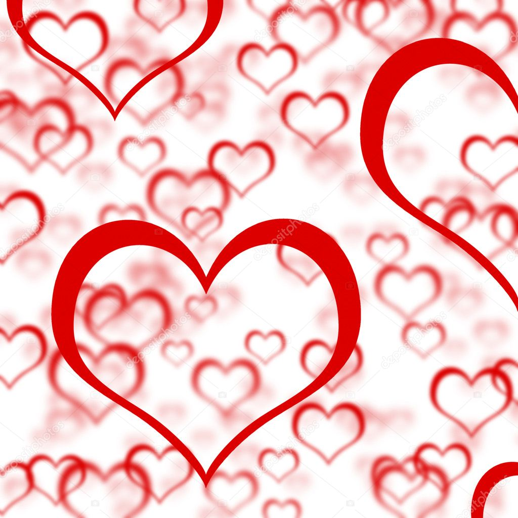 Sfondo di cuori rossi mostrando romanzesco amore e san for Immagini di cuori rossi