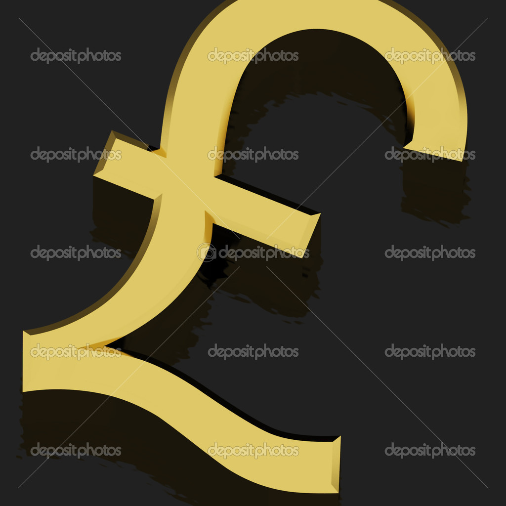 Pound Sign As Symbol For Money Or Wealth Stock Photo Stuartmiles