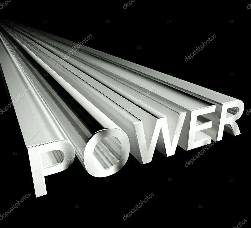 Power text in white and 3d as symbol for energy and industry power 3d text in white and as symbol for energy and industry photo by stuartmiles biocorpaavc Gallery