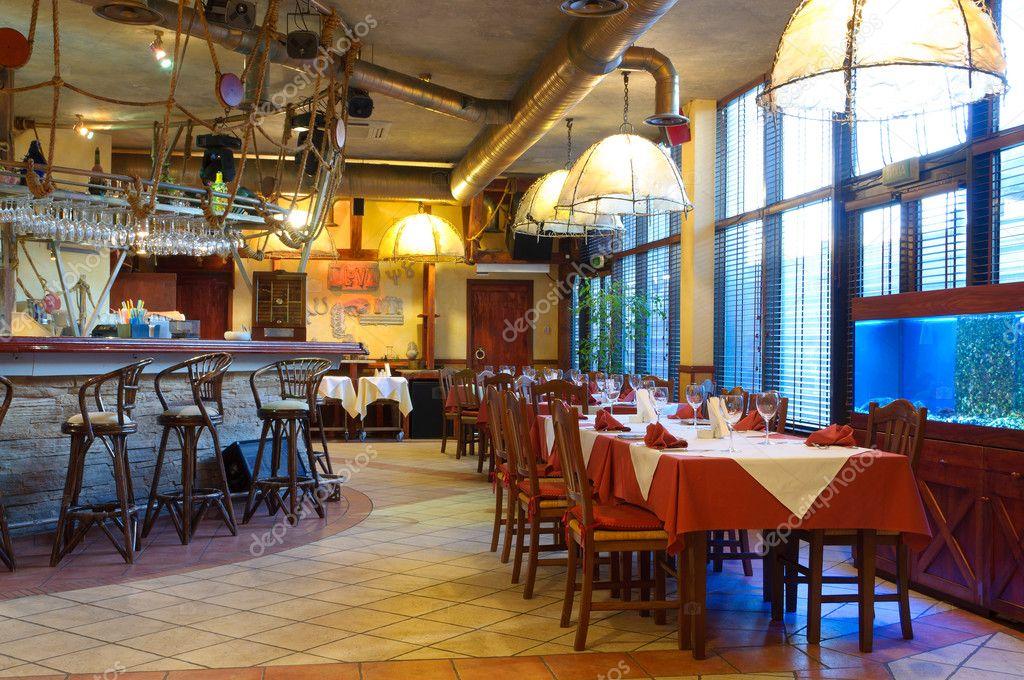 Italian Restaurant Interior Design Ideas Italian Restaurant With A Traditional Interior Stock Photo C Luckyraccoon 8992868