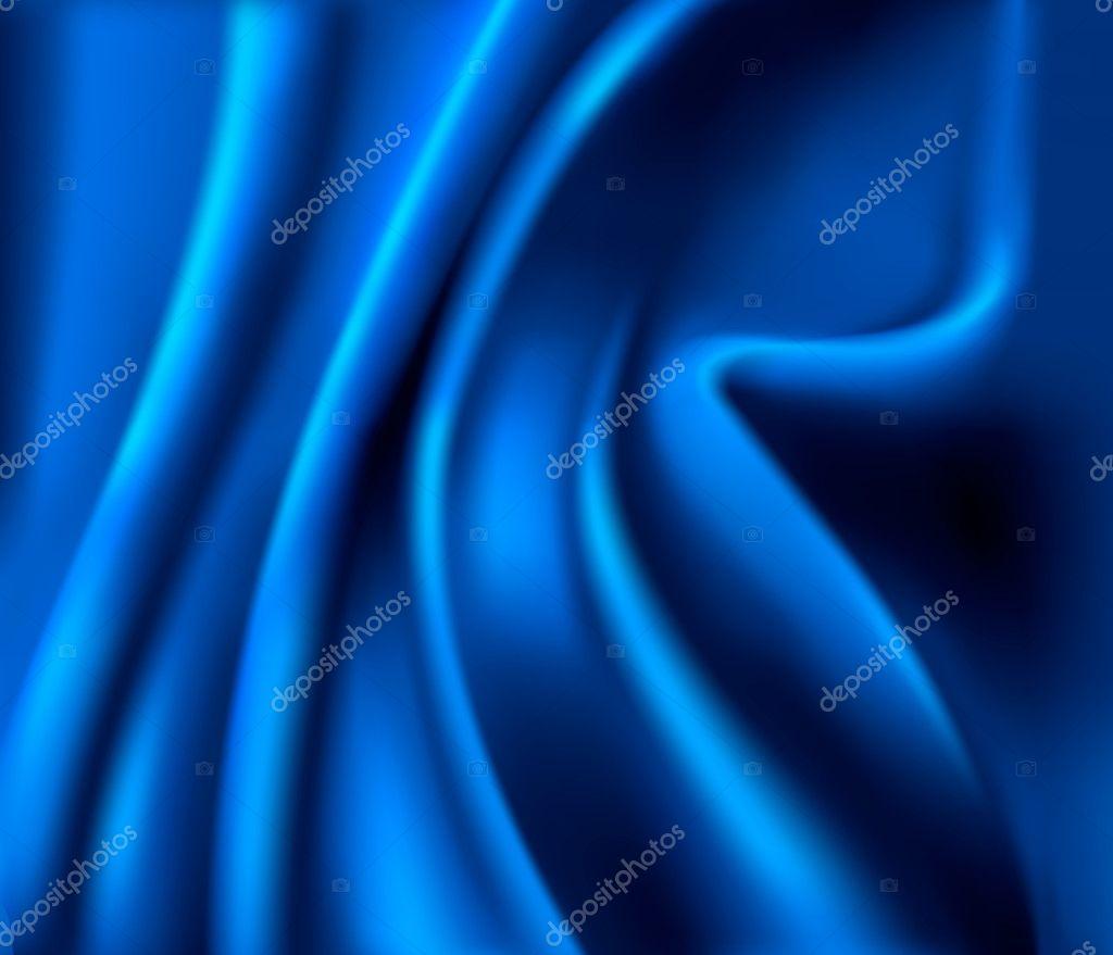 Blue satin background. Vector illustartion.