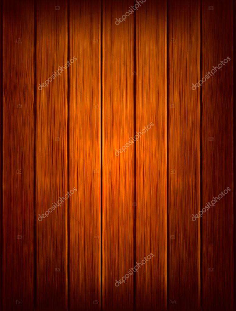 Wooden background. Vector illustration