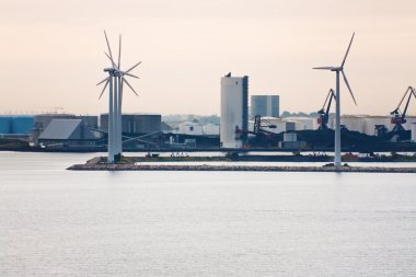 Middelgrunden - offshore wind farm near Copenhagen