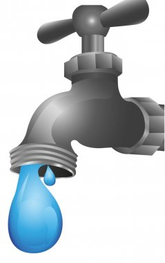 dripping tap illustration