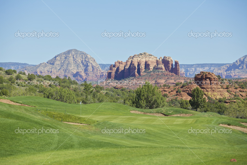 Sedona Golf Hole