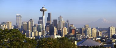 City of Seattle panoramic view.