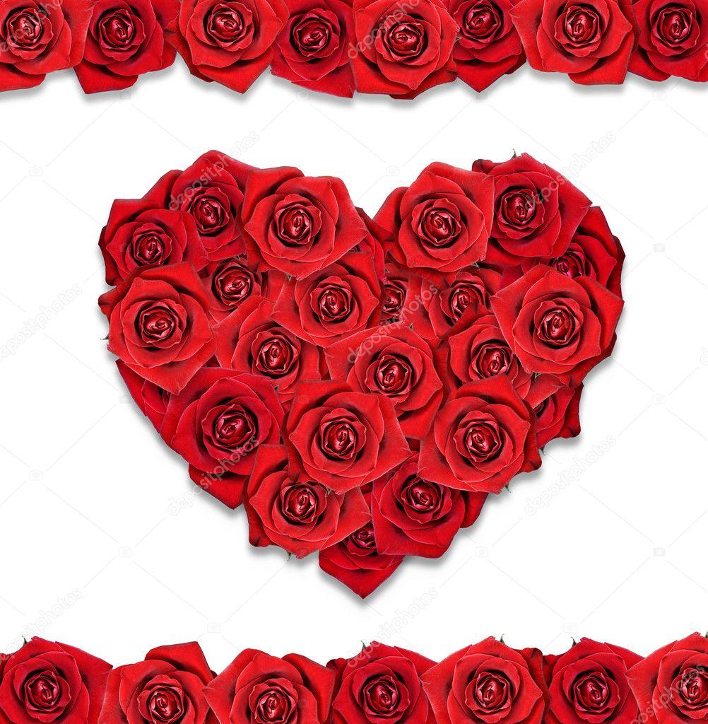 Открытка в форме розы, добрый