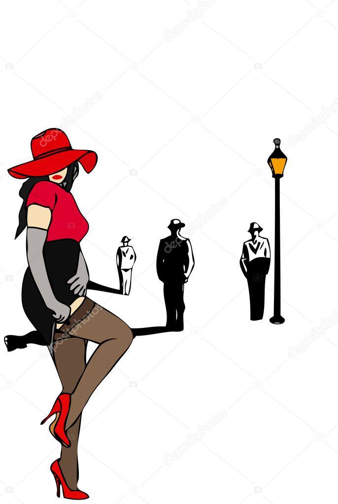 Как рисовать проститутку проститутки дубна