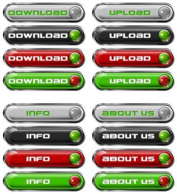 Set Web buttons n. 1