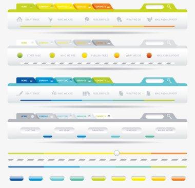 Web Design Frame Vector