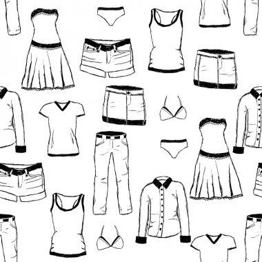Doodle clothes pattern