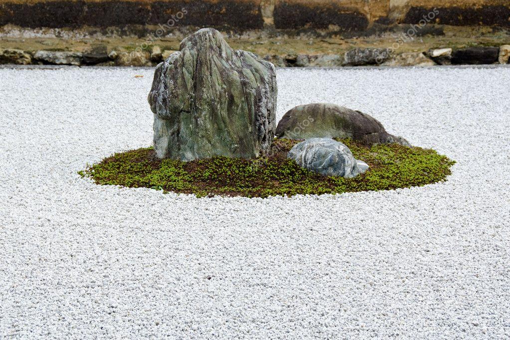 Jardin De Pierre Zen Du Temple Ryoanji Kyoto Photographie Arrxxx