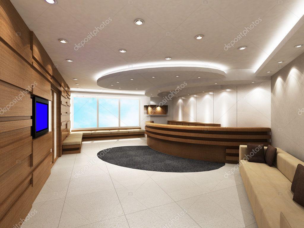 moderne wohnzimmer design mit tabelle und sofas 3d rendering foto von etse1112 - Moderne Wohnstube