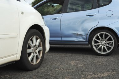 Light car accident