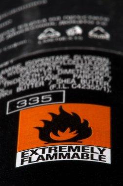 Symbol for flammable liquids