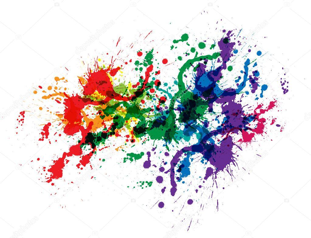 Lo sfondo colorato astratto della macchia vettoriali for Immagini vector