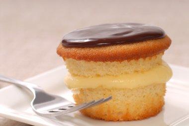 Delicious Boston Cream Cupcake