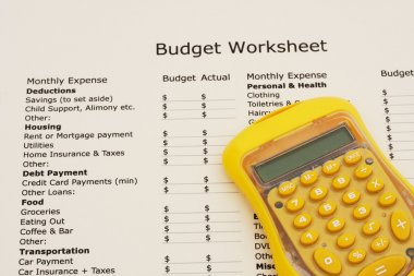 Creating your budget