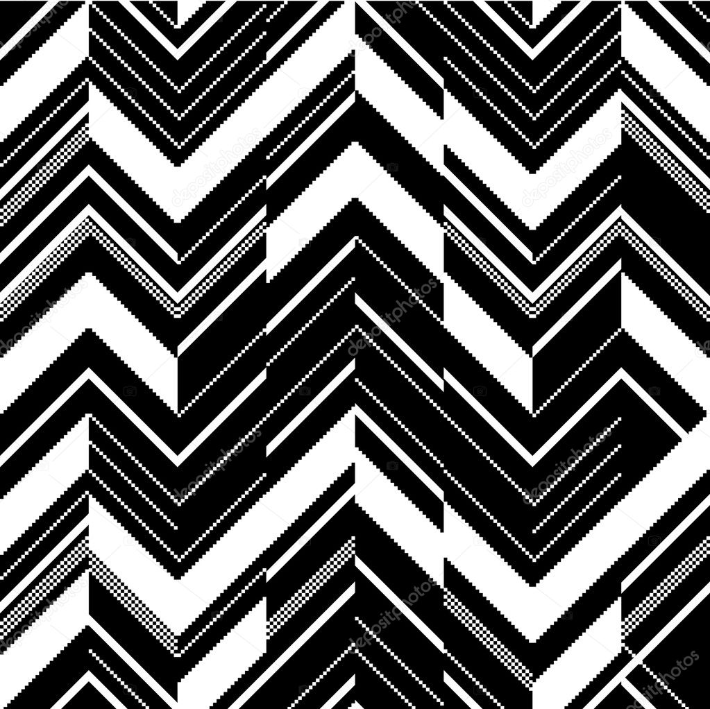 pattern in zigzag black and white stock vector silviapopa68 10705776. Black Bedroom Furniture Sets. Home Design Ideas