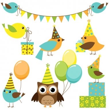 Party birds set