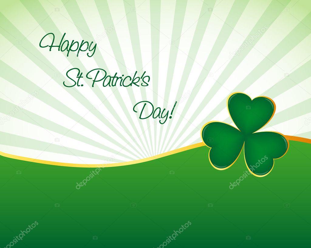 St Patrick S Day Wallpaper Stock Vector C Simo988 8812020