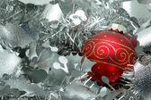 Vánoční koule nad stříbrný věnec
