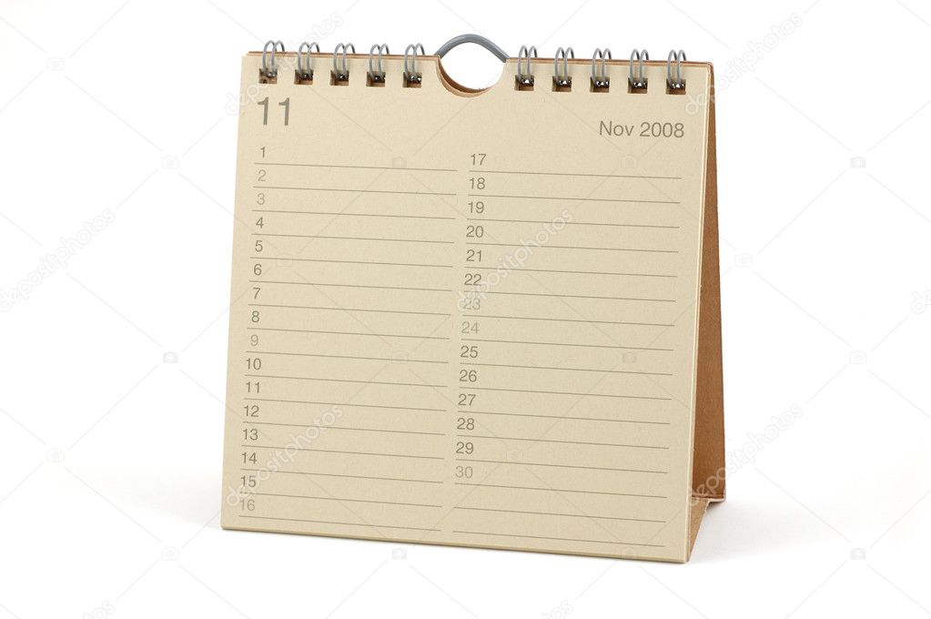 2008 november naptár Naptár   November 2008 — Stock Fotó © bedobedo #8872686 2008 november naptár