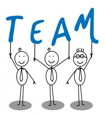 Team Group Text